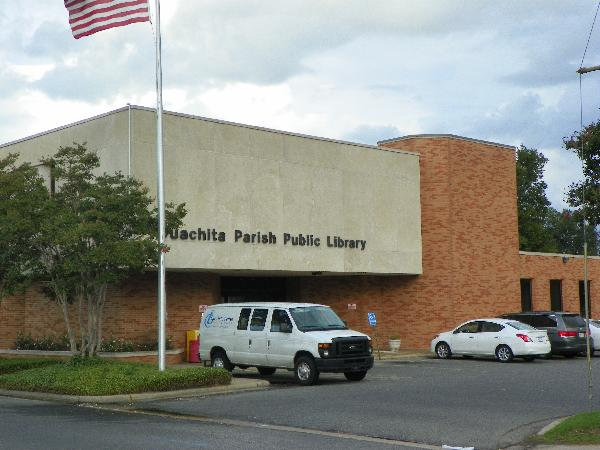 Front of Main Branch Library