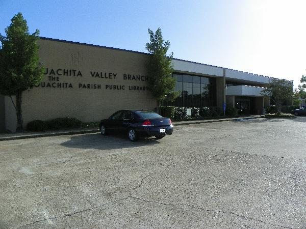 Front of Ouachita Valley Branch Library