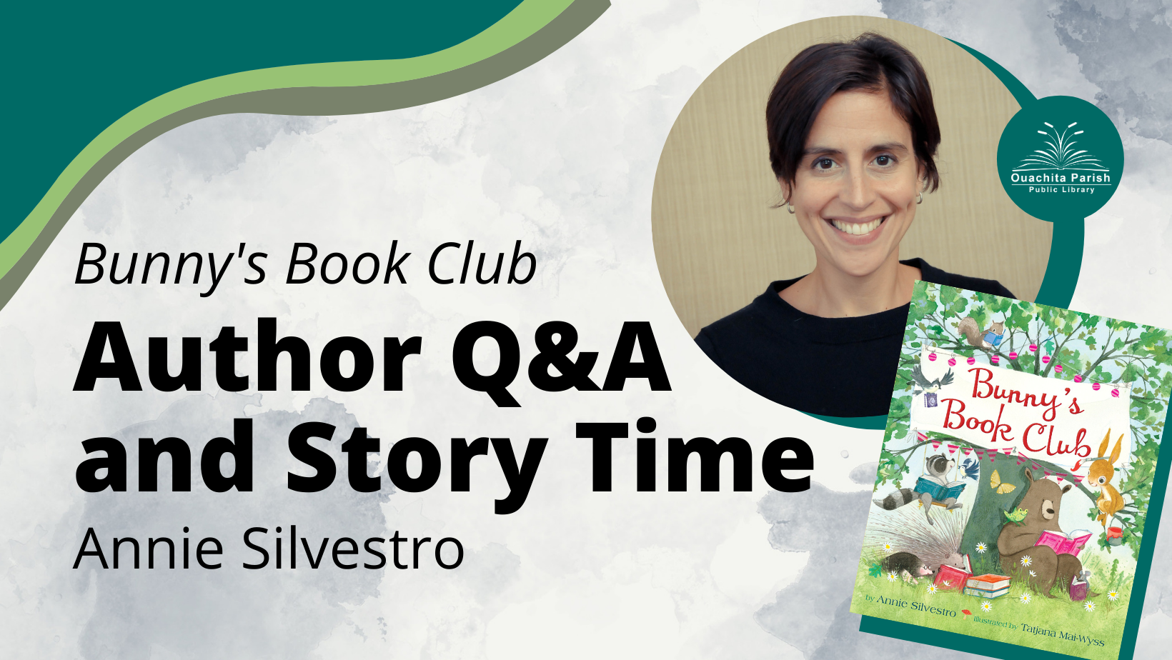 Author Q&A and Story Time